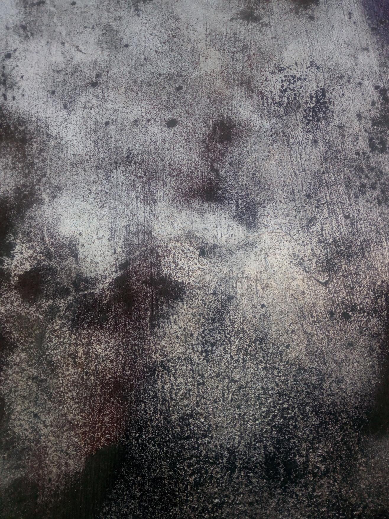 darker silvery wall
